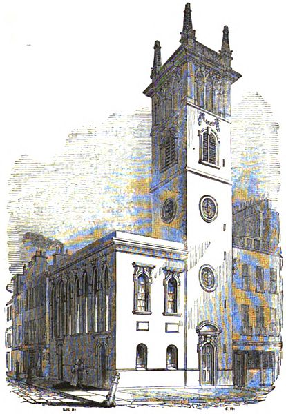 The Church of All Hallows Bread Street