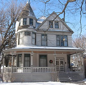 The birthplace of Ernest Hemingway in Oak Park...