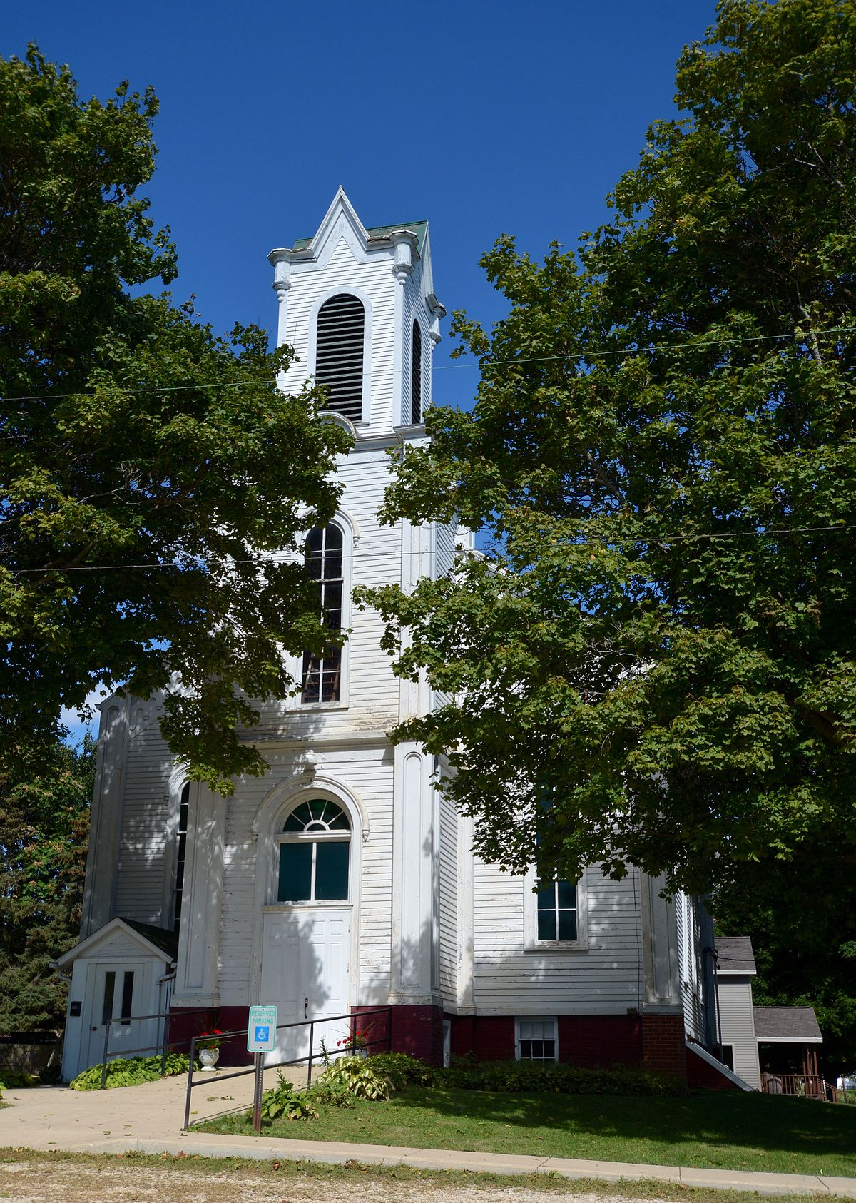 First Congregational Church Of Lamoille Wikipedia