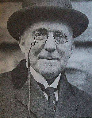 James Whitcomb Riley at a Riley Day celebratio...