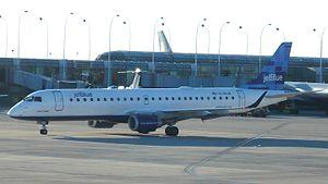 "JetBlue Embraer 190 N190JB (""Luiz F. Kahl..."