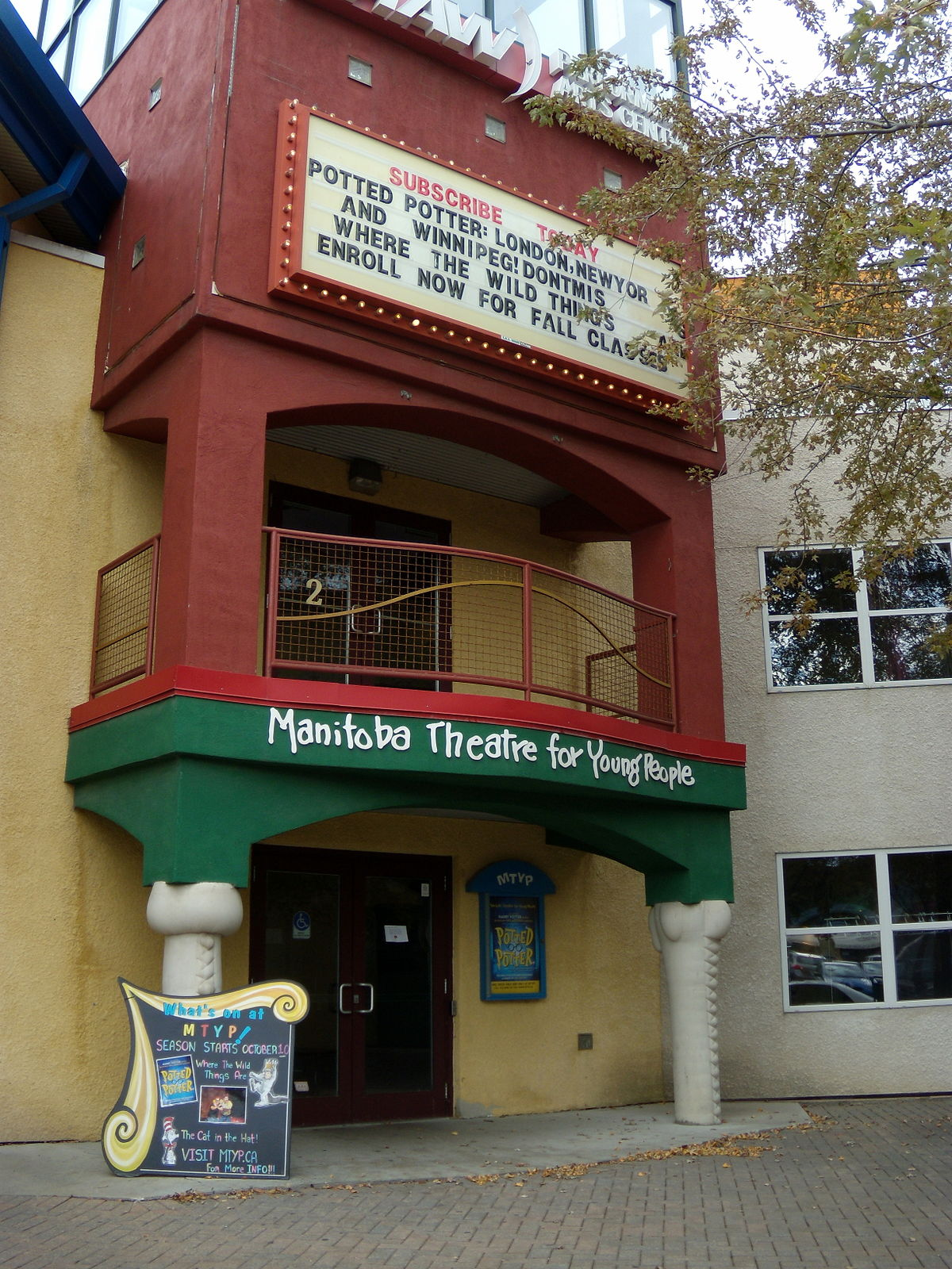 Manitoba Theatre for Young People  Wikipedia