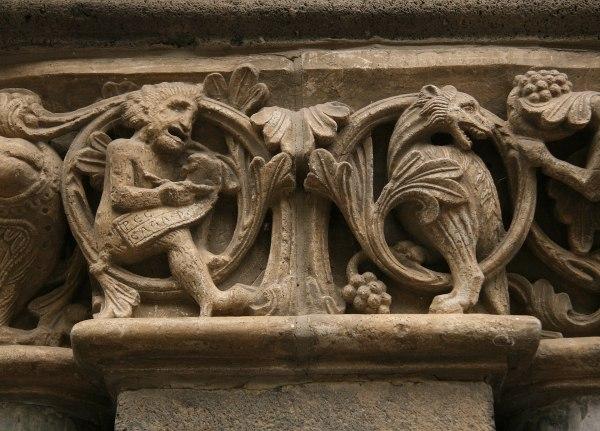 Art Romanesque Sculpture