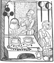 Medieval Kitchen Concept Art 3