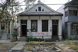"""No"". House in Mid-City New Orleans,..."