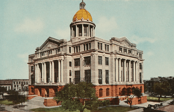 """The old Harris County Courthouse - From """"..."""