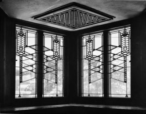 Robie House (designed by Frank Lloyd Wright), ...