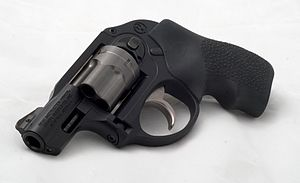 This is an image of a Ruger LCR chambered in 3...