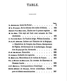 Table Of Contents Wikipedia