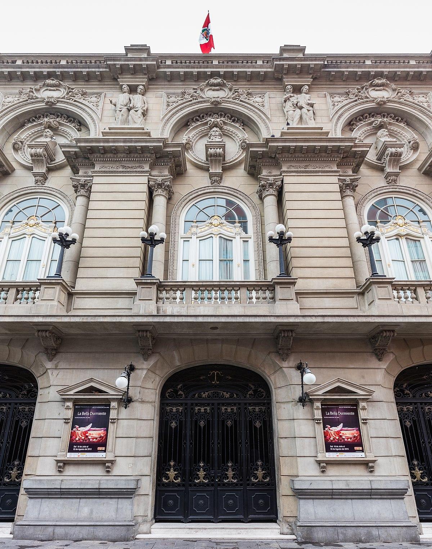 Teatro Municipal de Lima  Wikipedia la enciclopedia libre