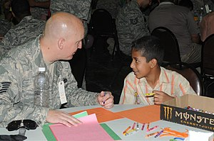 English: Air Force Tech. Sgt. Josh A. Sallee, ...