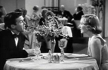 Screenshot of James Stewart and Jean Arthur fr...