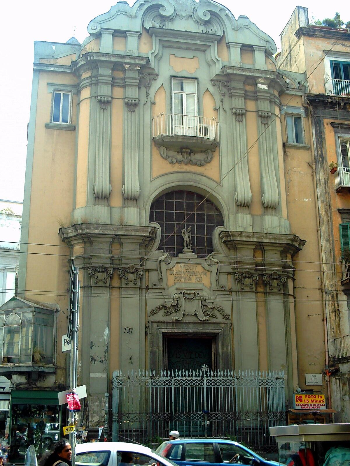Chiesa di San Michele Arcangelo Napoli  Wikipedia