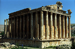 Baalbek, Temple of Bacchus