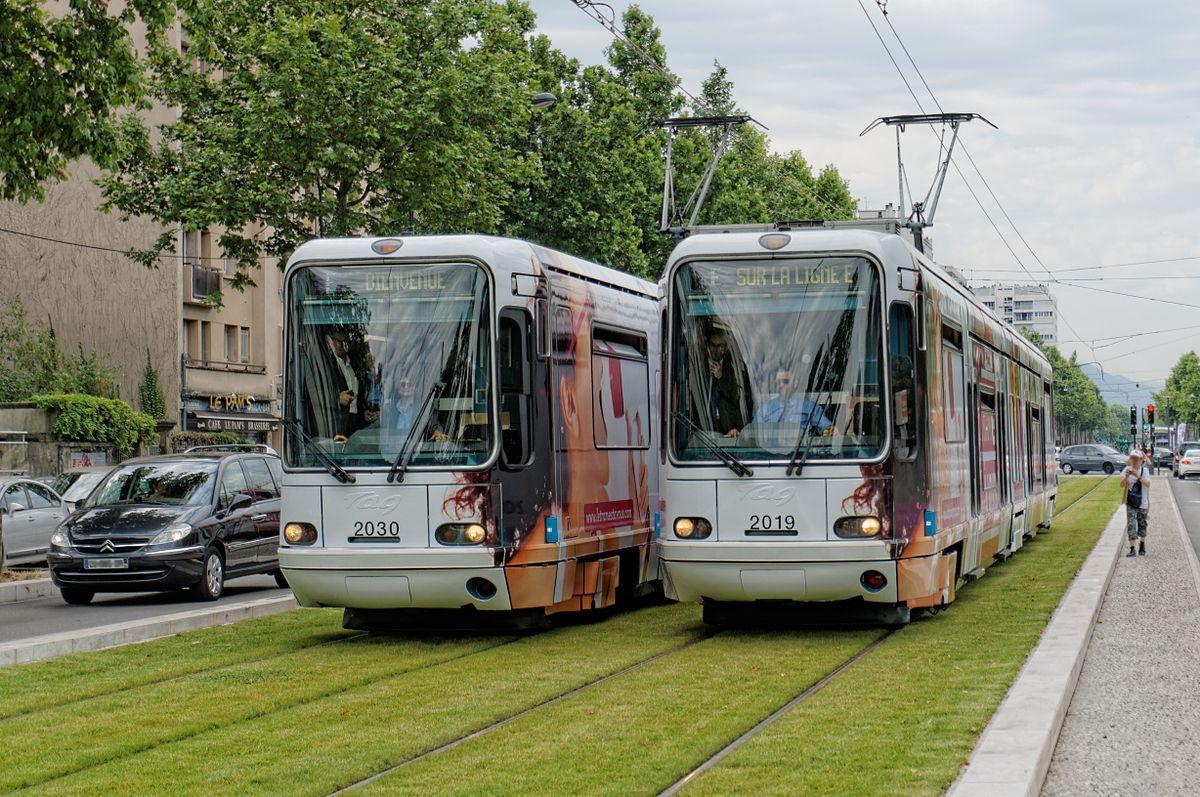 Ligne E du tramway de Grenoble  Wikipdia