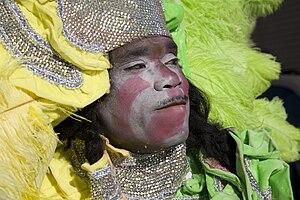 Mardi Gras Indian, New Orleans Mardi Gras