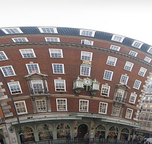 English: Fortnum & Mason in London.