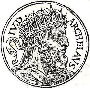 English: Herod Archelaus was the ethnarch of S...