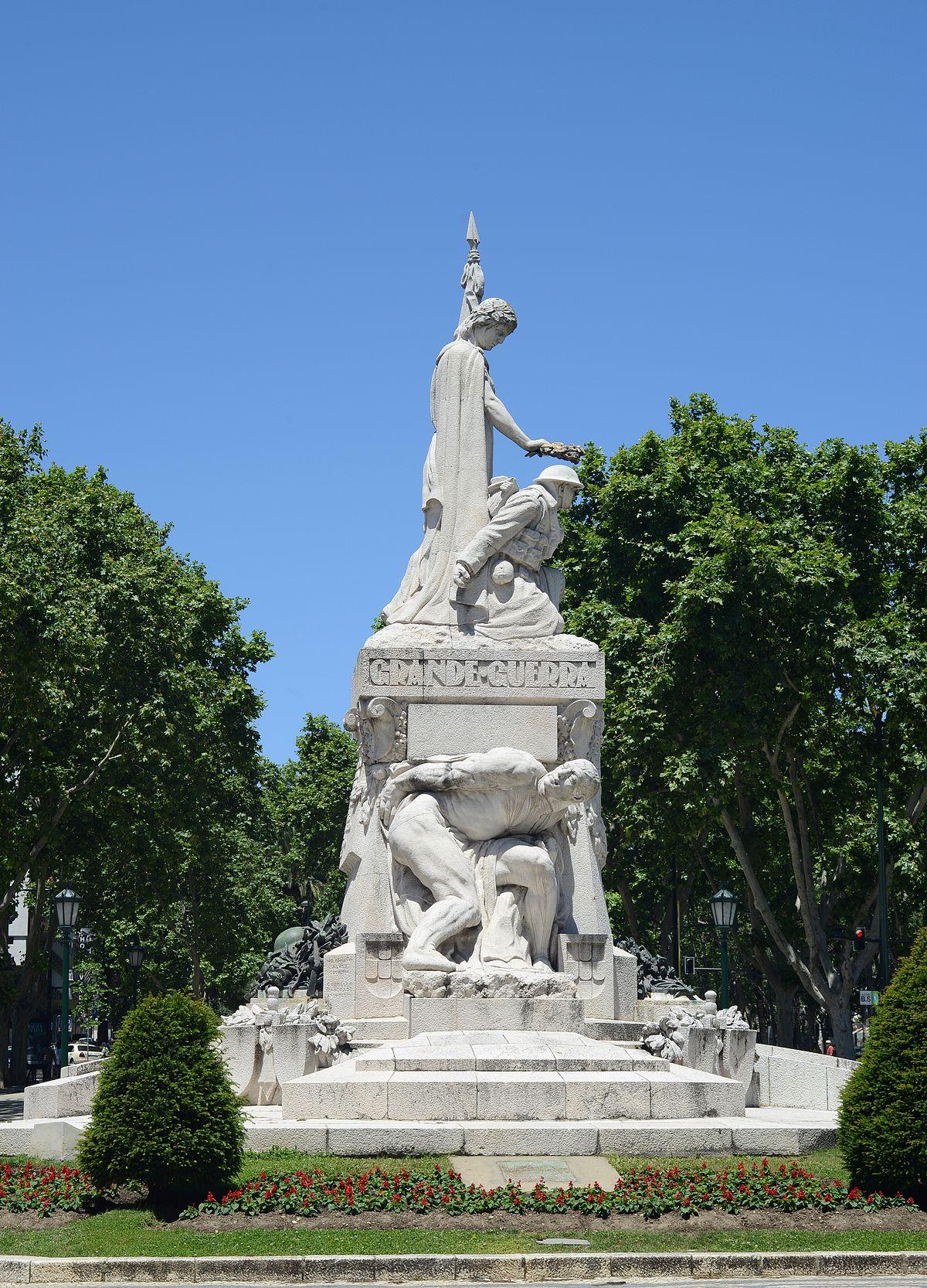 Monumento aos Mortos da Grande Guerra  Wikipdia a