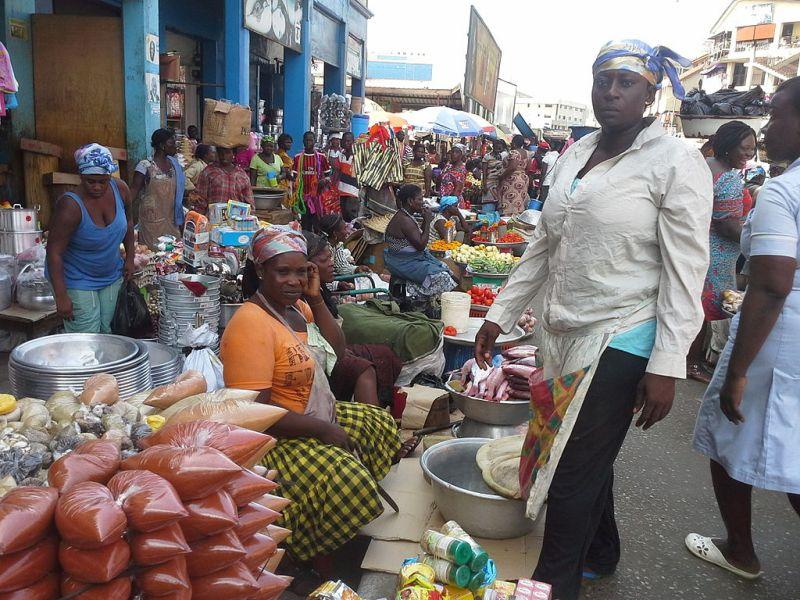 Market Women in Ghana