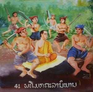 Description of attainment of Parinirvana by Mo...