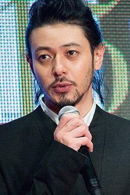 "Odagiri Joe ""Foujita"" at Opening Ceremony of the 28th Tokyo International Film Festival (22265705578)"