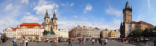 Old Town Square - panorama 3