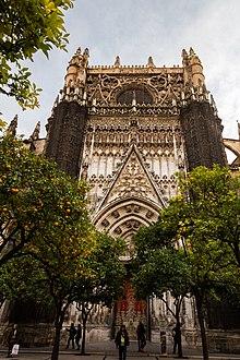 Patio de los Naranjos Sevilla  Wikipedia la enciclopedia libre