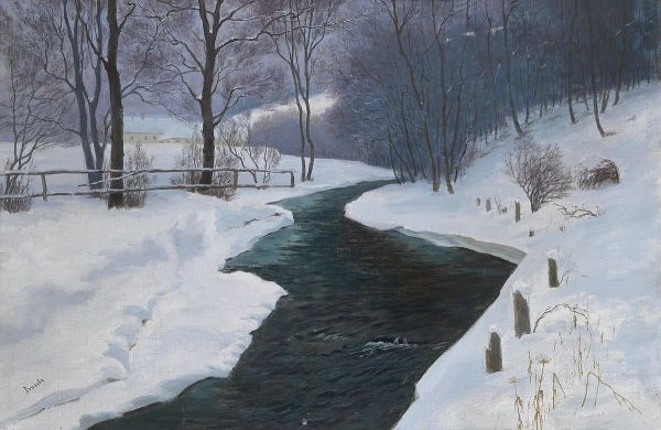 winter landscapes in western art