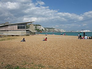 English: The beach at Dover
