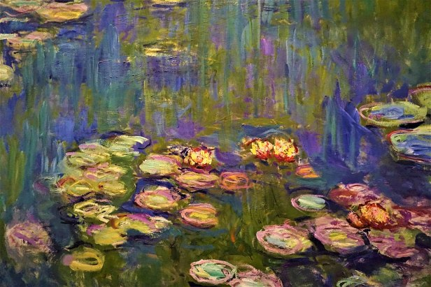 """""""Water Lilies"""" by Claude Monet - Joy of Museums - National Museum of Western Art, Tokyo - 2"""