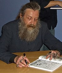 Alan Moore, l'ideatore di Watchmen
