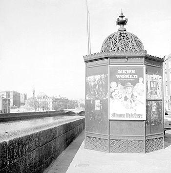A very ornate urinal on Ormond Quay, Dublin fe...