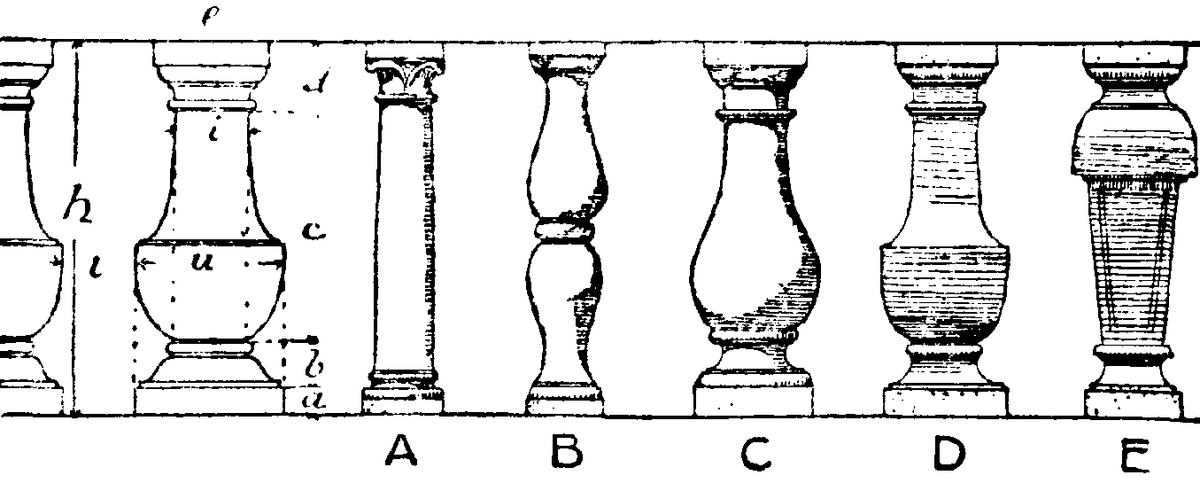 baluster  Wiktionary