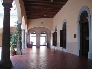 English: Art House Hall University Center Sout...