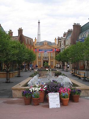 Epcot, France paviljon, Orlando, May 2005