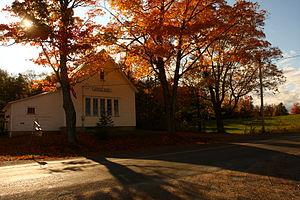 Français : L'école Keswick Ridge Superior, à K...
