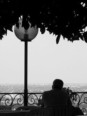 Divorce, Exterior lantern, Restaurant, View