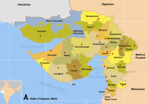Districts of Gujarat