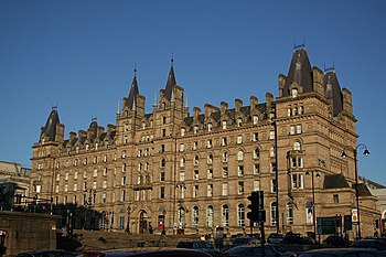 English: North Western Hotel Built by the Lond...
