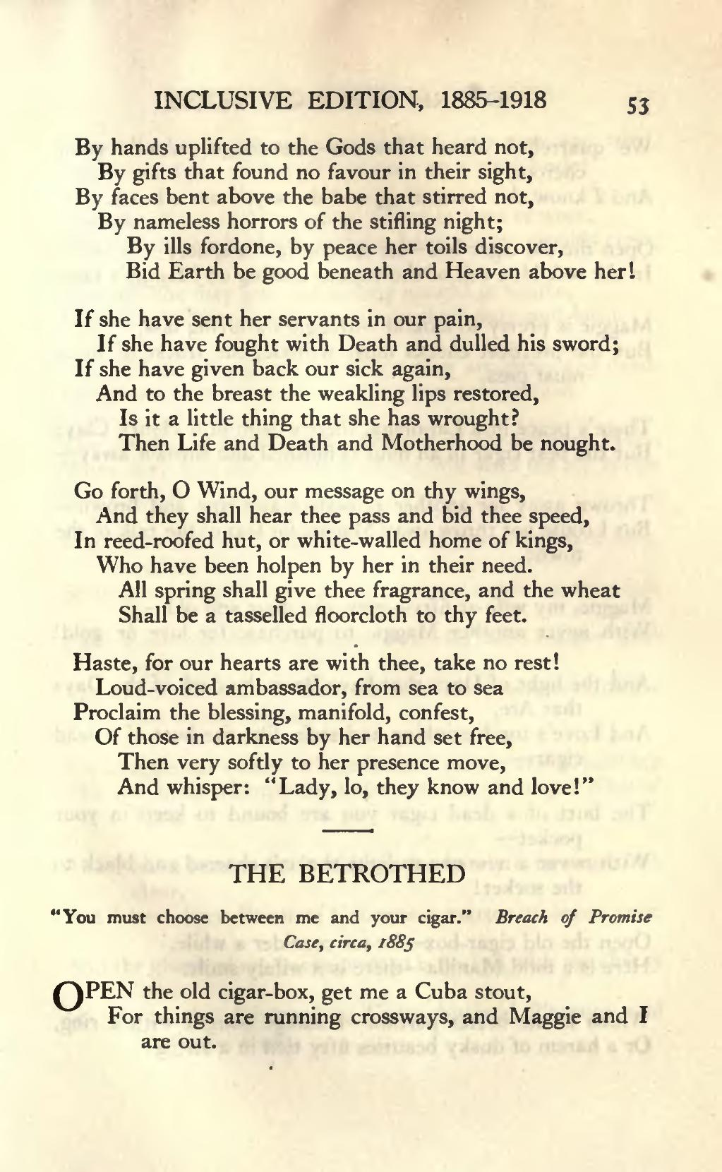 PageRudyard Kiplings Verse Inclusive Edition 1885 1918