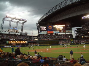Safeco Field, home of the Seattle Mariners