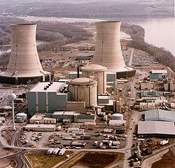 Fotografia aerea dell'impianto