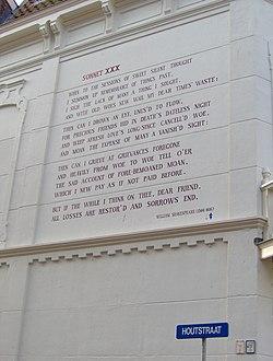 Sonnetten van Shakespeare  Wikipedia