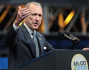 Arlen Specter AFL CIO 2009