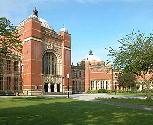 English: Aston Webb Hall, Birmingham University