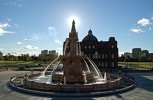 Doulton Fountain - Outside The People's Palace...