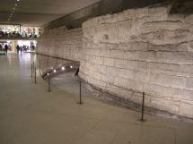 Murs De L'enceinte Paris Au Carrousel Du Louvre Wikipdia