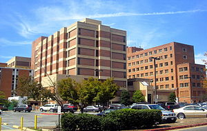 Georgetown University Hospital on the campus o...