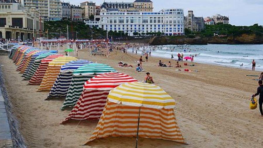 Grande Plage de Biarritz été 2012